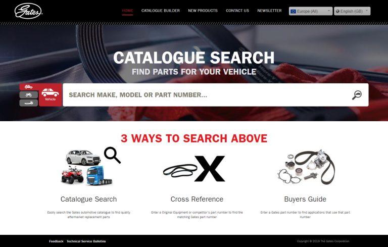 GatesAutoCat nieuwe website
