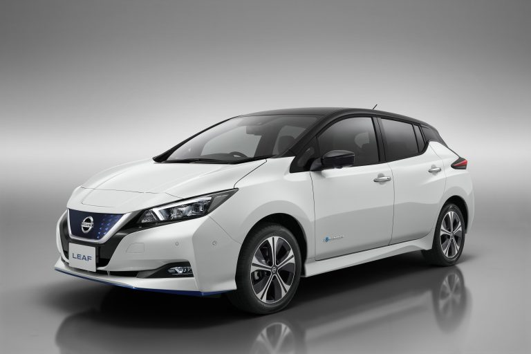 Nissan Leaf model 2019