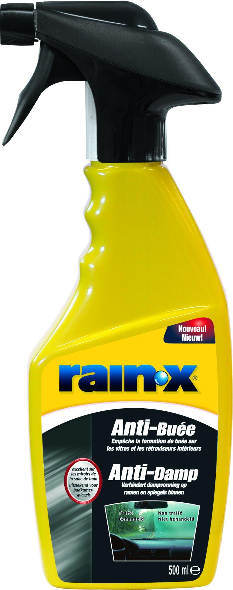 beslagen autoruiten RainX