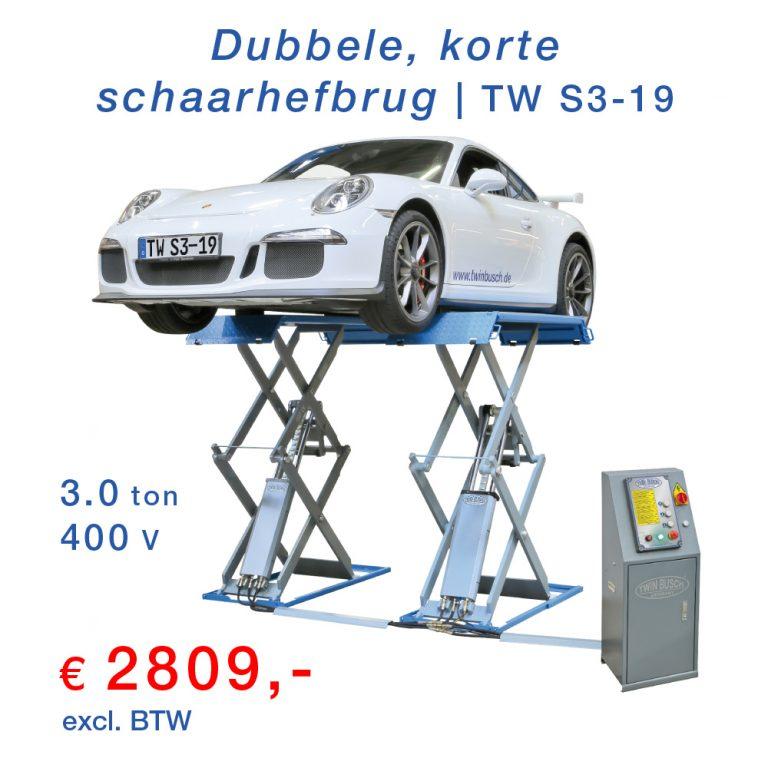 Twinbusch Dubbele Schaarhefbrug