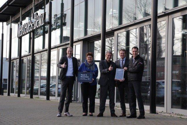 Wensink Schade Mercedes-Benz certificering